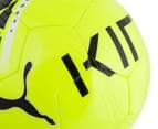 Puma Size 5 King Graphic Ball - Safety Yellow/Black/White 6