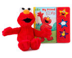 My Friend Elmo Sound Book & Plush Toy 2