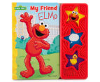 My Friend Elmo Sound Book & Plush Toy 4