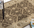 Arya Beauty Classic Collection Estelle 290x200cm Large Rug - Brown 2