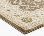 Arya Beauty Classic Collection Estelle 290x200cm Large Rug - Brown 3