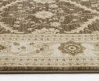 Arya Beauty Classic Collection Estelle 330x240cm X Large Rug - Brown 4