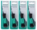 4 x Footcare 90cm Business/Dress Shoe Laces - Black 1