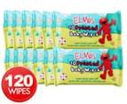 12 x Swisspers Elmo Baby Wipes 10pk 1