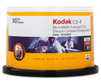 Kodak CD-R 700MB/52X Recordable Compact Disc 50-Pack 1