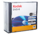 Kodak DVD-R Printable Surface 4.7GB/16X Discs 10-Pack 2