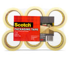 Scotch Packaging Tape Rolls 6-Pack - Clear 1