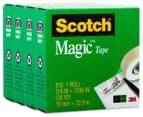 Scotch Magic Tape Rolls 4-Pack 1
