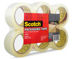 Scotch Packaging Tape Rolls 6-Pack - Clear 2