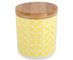 Cooper & Co. 13cm Ceramic Canister 3-Pack - Blue/Green/Yellow 3