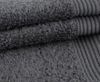 POP by Sheridan Hue Bath Towel 4-Pack - Charcoal 2