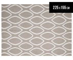 Isobel Modern Outline 225x155cm Rug - Grey 1