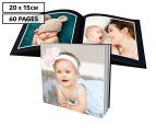 Personalised 20 x 15cm Soft Cover Photo Book - 60 Pages 1
