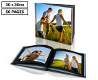 Personalised 30 x 30cm Hard Cover Photo Book - 50 Pages 1