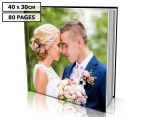 Personalised 40 x 30cm Hard Cover Photo Book - 80 Pages 1
