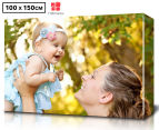 Personalised 100 x 150cm Rectangle Canvas 1