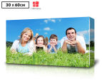 Personalised 30 x 60cm Long Rectangle Canvas 1