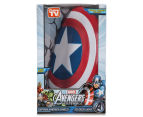3D Marvel Captain America Shield Wall Light - Red/White/Blue 6
