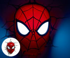 3D Marvel Spiderman Mask Wall Light - Red 1