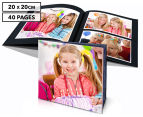 Personalised 20 x 20cm Soft Cover Photo Book - 40 Pages 1
