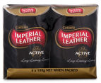 Imperial Leather Active Soap Bars 4pk 1
