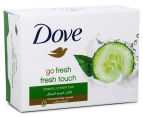 6 x Dove Go Fresh Beauty Cream Soap Bar 100g 2