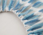 Petit Nest Changing Pad Cover - Blue 4