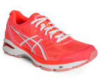 ASICS Women's GT-1000 5 Shoe - Flash Coral/White/Peach Melba 2