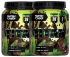 2 x Titan Protein Powder Chocolate Mint 454g 1