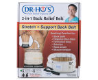 Dr. Ho's 2-in-1 Back Relief Belt - Size A/63-105cm 6
