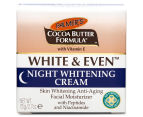 2 x Palmer's Cocoa Butter White & Even Night Whitening Cream 75g 3