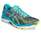 ASICS Women's GEL-Kayano 23 Shoe - Shark/Aruba Blue/Aquarium 2