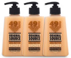 3 x Original Source Shea Butter & Honey Moisturising Hand Wash 250mL 1