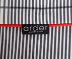 Ardor Wade Reversible Queen Bed Quilt Cover Set - Grey 5