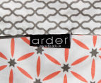 Ardor Madden Reversible King Bed Quilt Cover Set - Coral 5