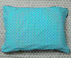 Ardor Peri Reversible King Bed Quilt Cover Set - Turquoise 6