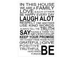In This House Wall Decal 2
