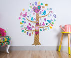 Tree w/ Birds Wall Decal 1