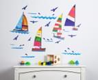 Sailing Boats Wall Decal 1