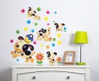 Puppy Dogs & Paw Prints Wall Decal 1