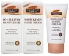 2 x Palmer's Cocoa Butter White & Even Hand Cream 60g 1