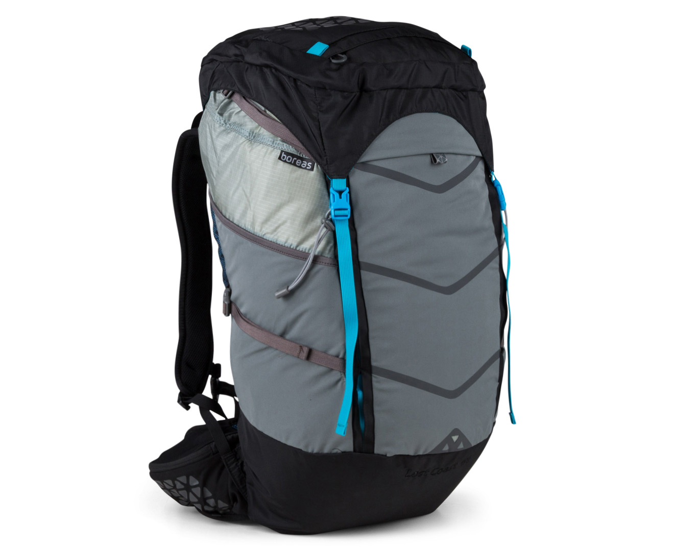 386ff12db62f Boreas Lost Coast 60L Backpack - Farallon Black