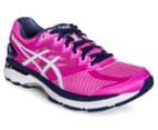 ASICS Women's GT-2000 4 Shoe - Pink Glow/Soothing Sea/Indigo Blue 2