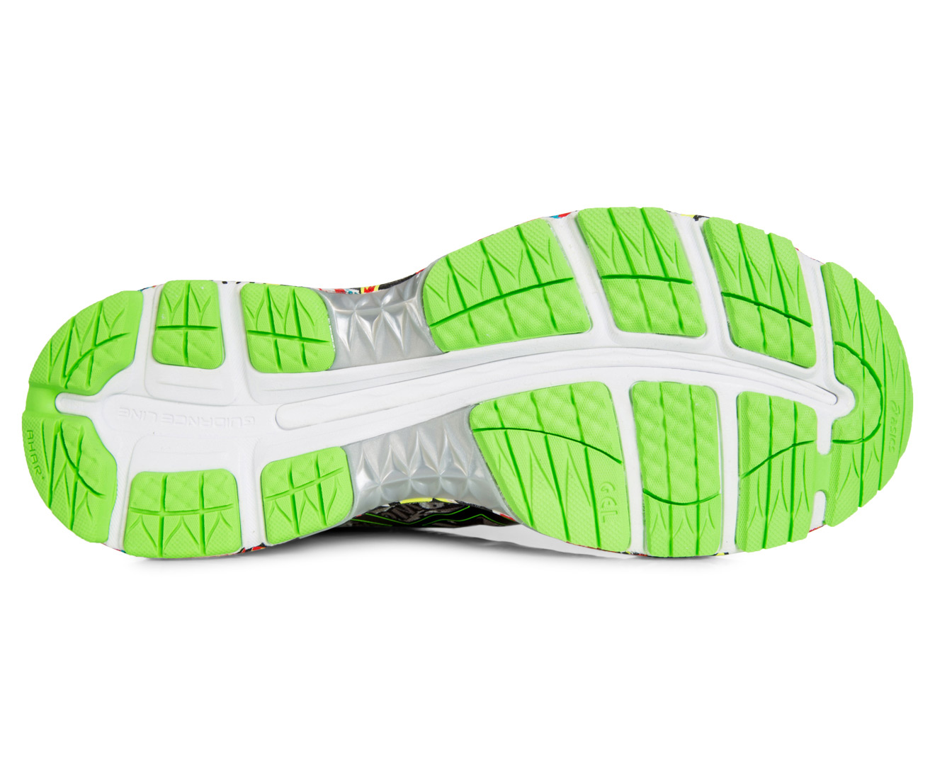 589975cc2a ASICS Men's GEL-Nimbus 18 Shoe - Carbon/Black/Green Gecko