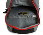 The North Face Haystack Backpack - Zinc Grey/Fiery Red 6