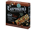 3 x Carman's Almond, Hazelnut & Vanilla Nut Bars 175g 5pk 5