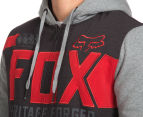 Fox Men's Blockade Sasquatch Fleece Zip Hoodie - Heather Graphite 6