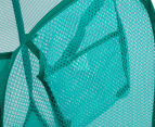 Living Basics 58cm Pop Up Mesh Laundry Hamper - Randomly Selected Colour 4