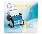 Rolodex 400 Rotary Business Card File - Black 2