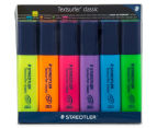 Staedtler Textsurfer Classic Highlighters Wallet 6-Pack 1